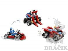 31030 Lego Creator - Červená motokára