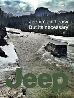 it's a jeep thing...