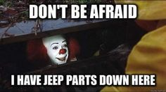 Liar! You do not have any jeep parts!