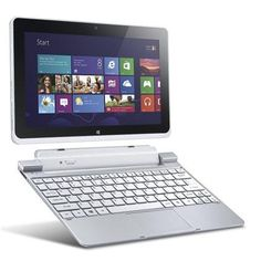 Acer, Acer Iconia W510 WiFi 64GB Tablet with Keyboard Dock (Silver), AUD 899.00 on Set That -