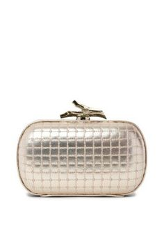 Lytton Quilted Leather Clutch