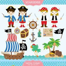 Resultado de imagen para pirates digital clip art