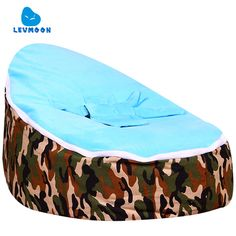 (27.36$)  Buy here - http://aikn1.worlditems.win/all/product.php?id=32792257638 - Levmoon Medium Camouflage Beanbags Bean Bag Chair Kids Bed For Sleeping Portable Folding  Child Seat Sofa Zac Without The Filler