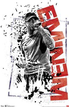 Eminem Crumble Music Poster Posters at AllPosters.com