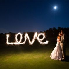 I think I'd probably want a night wedding since I like stars, sparklers, and twinkle lights!