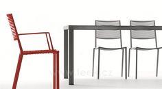 TEEK | Stohovatelná jídelní židle Easy Fast, hliník, 7 barev - Designový zahradní nábytek a slunečníky