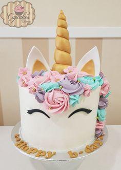 Zugehöriges Bild – unicorn party – - Bake a Cake 2019 Unicorne Cake, Cupcake Cakes, Oreo Cupcakes, Fondant Cupcakes, Unicorn Themed Birthday Party, Birthday Cake, 5th Birthday, Birthday Ideas, Salty Cake