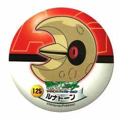 Pokemon 2006 Sapporo Ichiban Ramen AG Collection Series Lunatone Sticker