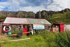 Cleadale. Whales Head Pub. Isle of Eigg. Scottish Highlands and Islands.