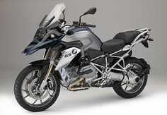 2015 BMW R 1200 GS in Frozen dark blue metallic