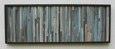 Items similar to Reclaimed Wood Wall Art Sculpture Modern Painting Distressed Rustic-Abstract Blue on Etsy Rustic Art, Rustic Wall Decor, Distressed Painting, Painting On Wood, Reclaimed Wood Wall Art, Wood Sculpture, Modern Wall Art, Abstract Art, Etsy