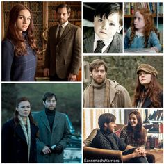 """#Outlander and the terrific one on one's 💕 Couples, brothers, friends & frenemies 👥 Part 1️⃣5️⃣ Brianna & Roger  @SkeltonSophie  @RikRankin"""