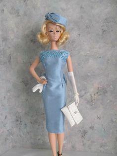 "OOAK Handmade Barbie/Silkstone ""Sassy Silk Sheath"" by Ann"