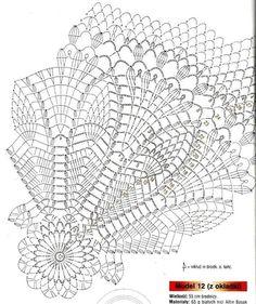 View album on Yandex. Crochet Bedspread Pattern, Crochet Doily Patterns, Crochet Mandala, Freeform Crochet, Thread Crochet, Crochet Motif, Crochet Doilies, Free Crochet, Crochet Circles