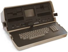 The Osborne 1 was awesome in its day. It was released in 1981, weighed over 23 pounds, and cost $1,795. With an unbelievably small 5-inch display, dual floppy drives, 4 MHz CPU, and 64k of RAM.