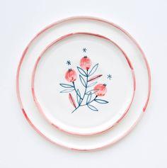 Pottery Painting, Ceramic Painting, Ceramic Art, Interior Plants, Cute Mugs, Ceramic Pottery, Art Inspo, Bowls, Flora