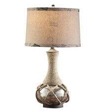 "Freeport 30"" H Table Lamp with Drum Shade"