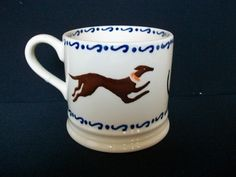 Whippets Baby Mug 2009