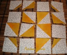 "El ""Dear Jane"" de Patchworkpassion: A1 Pinwheel Gone Awry"