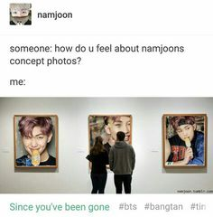 Thats me & Namjoon in our 40s at our house guys hahah