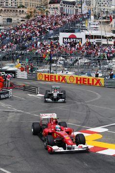 Fernando Alonso | Ferrari F10 & Michael Schumacher | Mercedes MGP W01 | Monaco Grand Prix