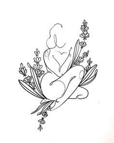 Body Art Tattoos, Tattoo Drawings, Small Tattoos, Art Drawings, Tatoos, Ink Tattoos, Outline Art, Future Tattoos, Skin Art