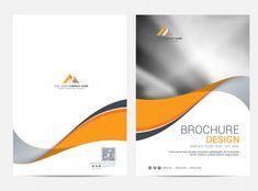 Brochure template flyer design vector background Premium Vector Template Flyer, Cover Template, Layout Template, Brochure Template, Templates, Flyer Design, Design Vector, Web Design, Poster Retro