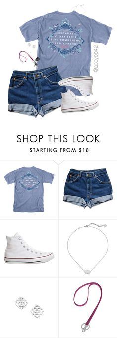 """Last day of school!!"" by abbybp42 ❤ liked on Polyvore featuring Converse, Kendra Scott, Vera Bradley and summertime"