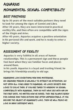 Aquarius and aries sexual orientation