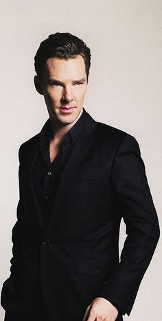 Benedict Cumberbatch. I was going to post something witty here, but the only things going through my head right now are not appropriate...