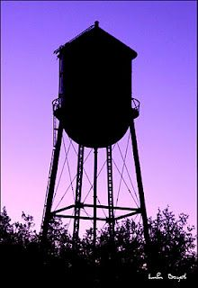 Old Water Tower in Loraine