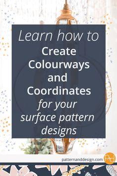 Colourways, Coordinates, Surface Pattern Design Ranges, Surface Pattern Design Collection, Repeat Patterns #surfacepatterndesign, #designcollection #textiledesign, #patternrepeat, #colourway, #coordinate, #designinspiration, #successfuldesigns