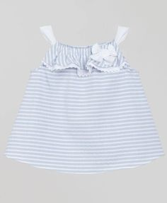 Fina Ejerique ★ Kleidchen Streifen grau