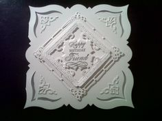 white on white with new spellbinders