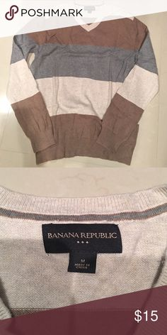 Men's sweater Men's banana republic sweater worn very few times and in excellent condition. Banana Republic Sweaters V-Neck