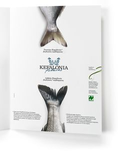 Kefalonia fisheries organic sea bass-sea bream | mousegraphics