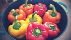 I love peppers!