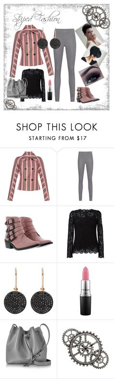 """""""⚙️Striped Fashion⚙️"""" by suzettestokes ❤ liked on Polyvore featuring Marni, Arma, Toga, Dolce&Gabbana, Astley Clarke, MAC Cosmetics and Lancaster"""
