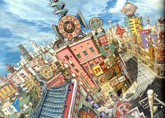 "Directed by Michael Arias. Animated by Studio 4°C | ""Tekkonkinkreet"""