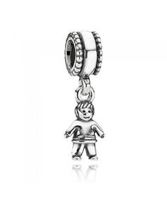 Pandora Boy Pendant  Charms Cheap Sale Design is very cute, style is very innovative.