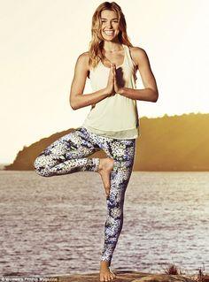 Say om! Zen-loving Australian model Ashley Hart tells the May issue of Women's Fitness how she 'came on the mind' of supermodel sister Jessi...