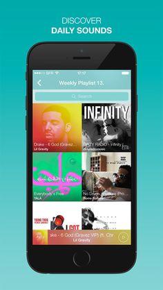 Sounds App - InstaSound & SnapSound - Music for Instagram & Snapchat Vimies 무료 음악 듣기