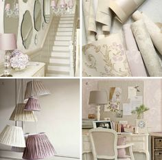 Autumn Winter 2015 collection from Laura Ashley 42 Laura Ashley Home, Home Catalogue, Gray Interior, Pink Grey, Fall Winter, Autumn, Cool Designs, Shabby, Home And Garden