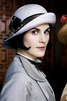 Lady Mary in her newest hat.