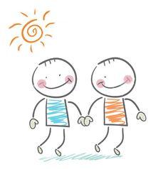 Glück ist kein Zufall, man muss es sich suchen und pflegen ... so wie Freundschaften. Snoopy, Fictional Characters, Art, Friendship, Kunst, Fantasy Characters, Art Education, Artworks
