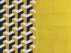 cement tiles & zelliges…yellow submarine