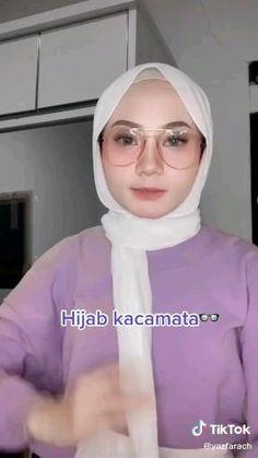 Modern Hijab Fashion, Islamic Fashion, Muslim Fashion, Simple Hijab Tutorial, Hijab Style Tutorial, Pashmina Hijab Tutorial, Mode Turban, Stylish Hijab, Head Scarf Styles