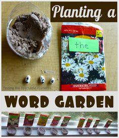 Planting a Word Garden