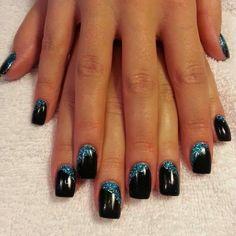 Gel+backfill+Acrylic+Extension+LED+polish+manicure+abyss+black+nails+glitz+Gel-Nails-Polish-LED-Polish-LED-Nails-Acrylic-Nails-Nail-Art.jpg (612×612)