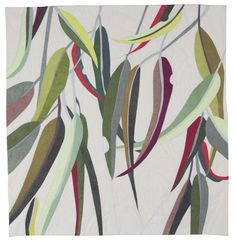 Image of Eucalyptus Colour Study 2 Plant Illustration, Botanical Illustration, Watercolor Illustration, Watercolour, Australian Native Flowers, Australian Wildflowers, Leaf Art, Wall Art Designs, Botanical Art
